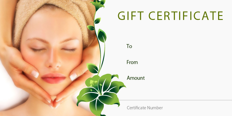Personal Gift Certificate Templates Gift Certificate Factory - Free massage gift certificate template